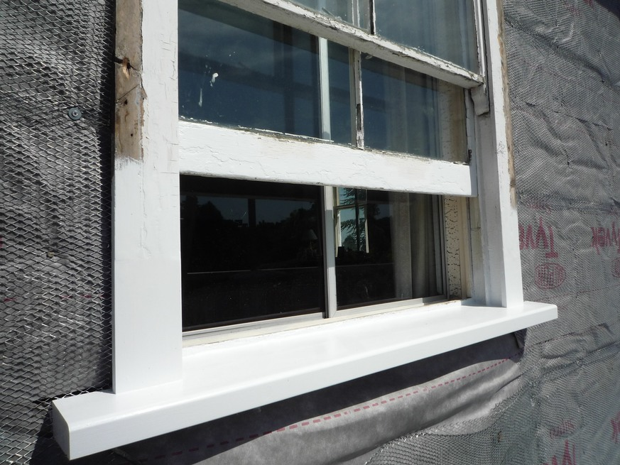 Repairs restoration by woodworks of epping for Window sill replacement
